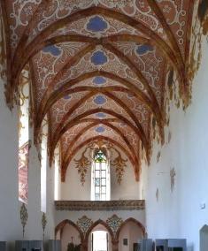 Interiér kláštora