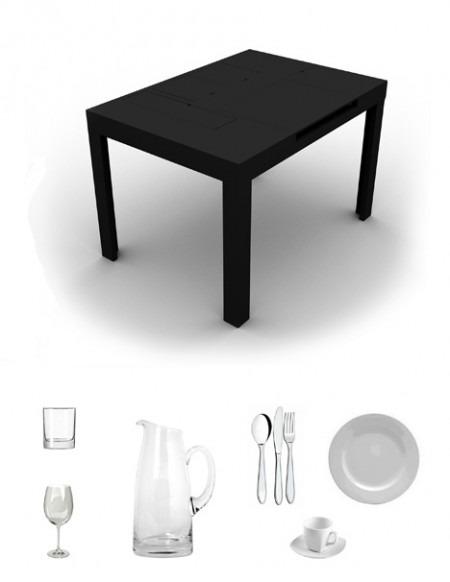 Table 180 noire