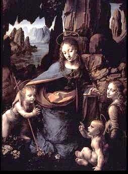 Madona v skalách, Leonardo da Vinci