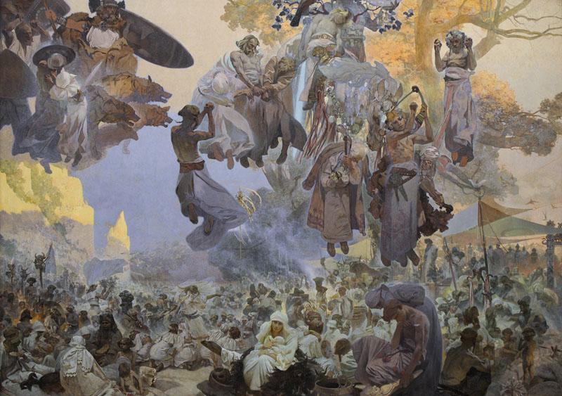 Alfons Mucha, Slovanská epopej