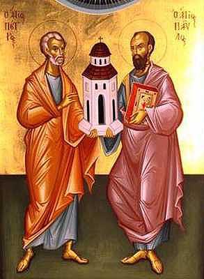Sv. Peter a sv. Pavol