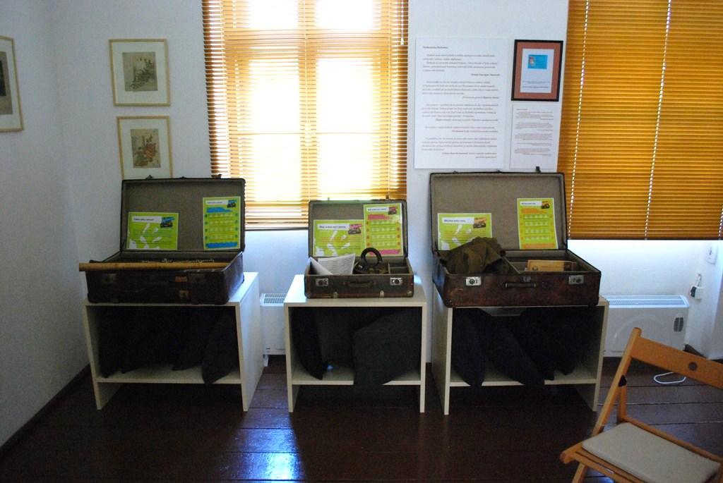 Ilustračné foto, Štefánikov kufor - interaktívny program v SNM - Múzeu MRŠ