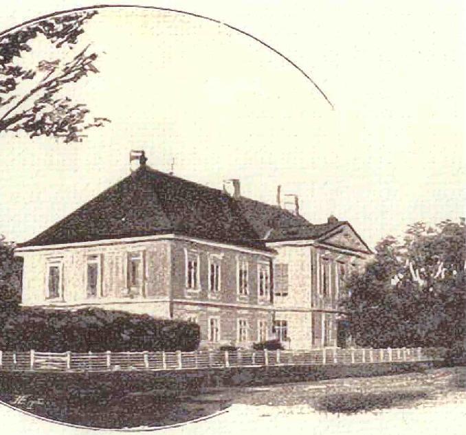 Kaštieľ Beladice, časť Veľké Chrašťany (z archívu obce)