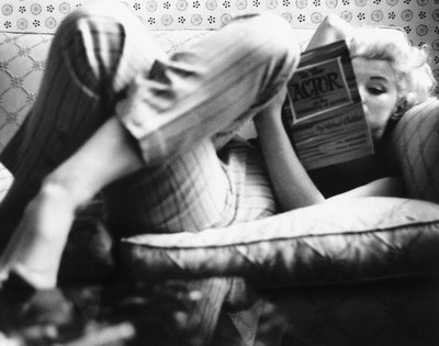 Marilyn Monroe, 1955 (marilynmonroes.blogspot.com)