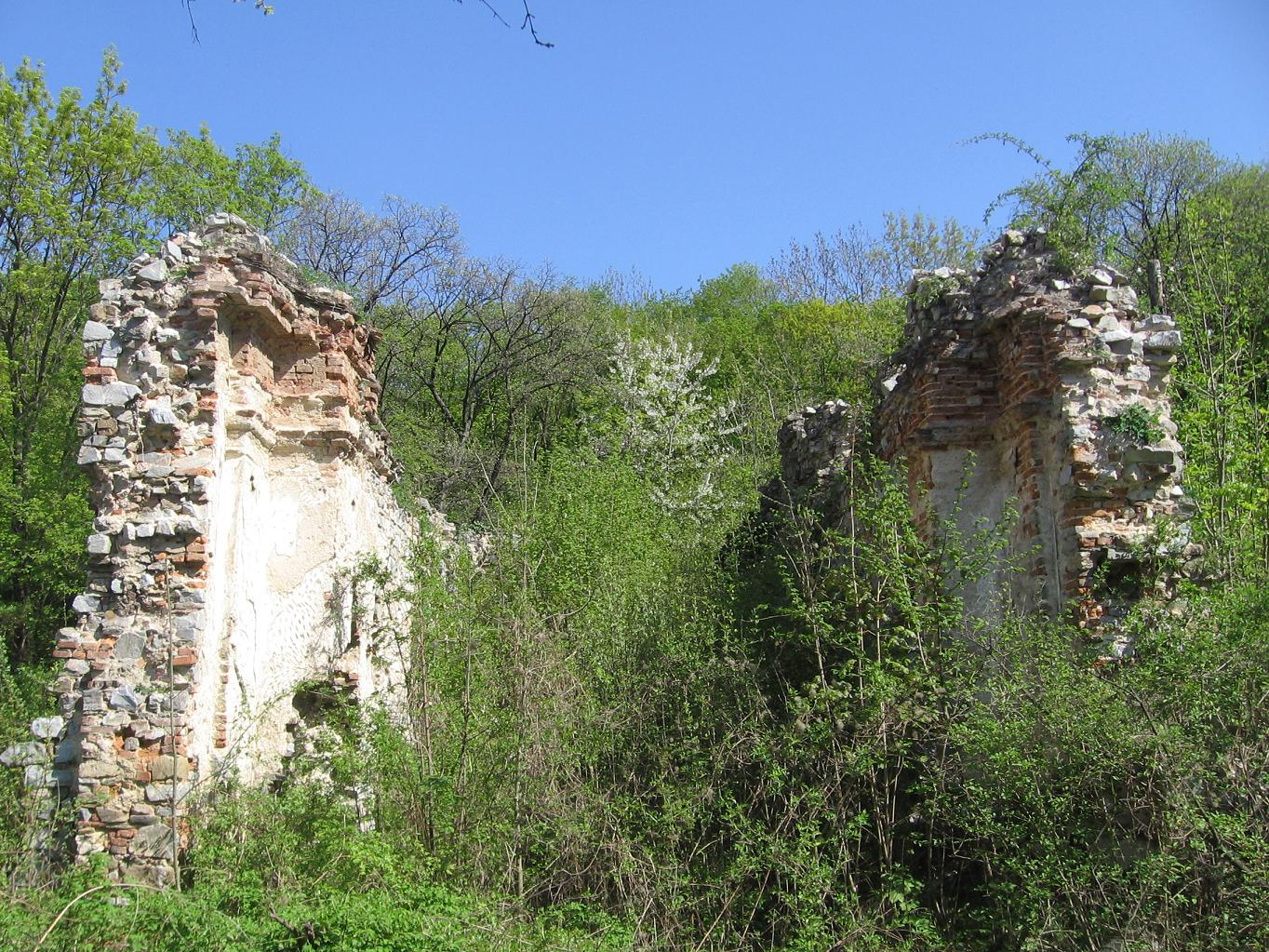 Ruiny zoborského kláštora, foto Kamil Nováčik