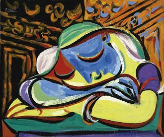 Picasso pri práci (hermitage.nl)