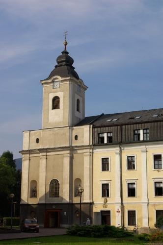 R.k. kostol Povýšenia sv. Kríža (http://ubytovanie.ruzomberok.eu)