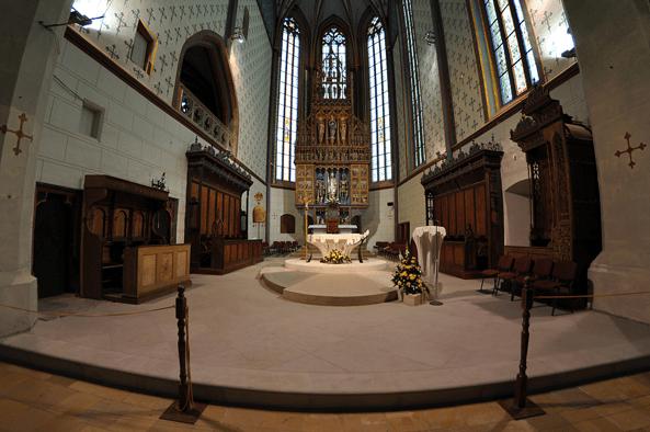 Svätyňa Baziliky minor sv. Egídia v Bardejove (bardejov.sk)