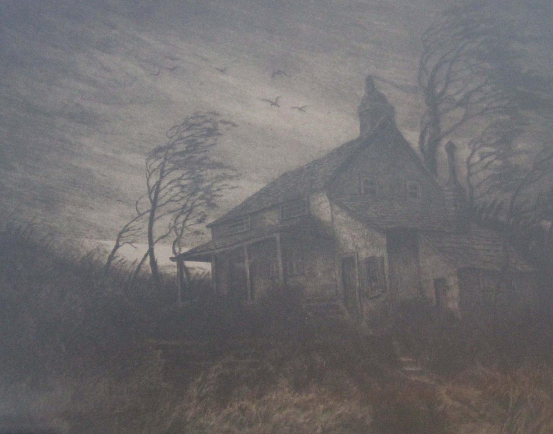Obraz domu, súčasť interiéru múzea (http://sallanscorner.wordpress.com)