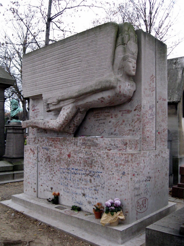 Hrob Oskara Wilda, foto: Ondřej Kubera (picasaweb.google.com)