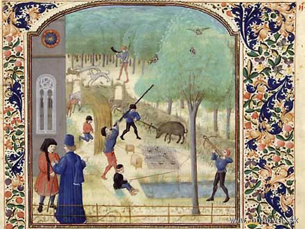 Pier de Crescenzi, Livre des prouffitz champestres et ruraulx, cca 1450-1475