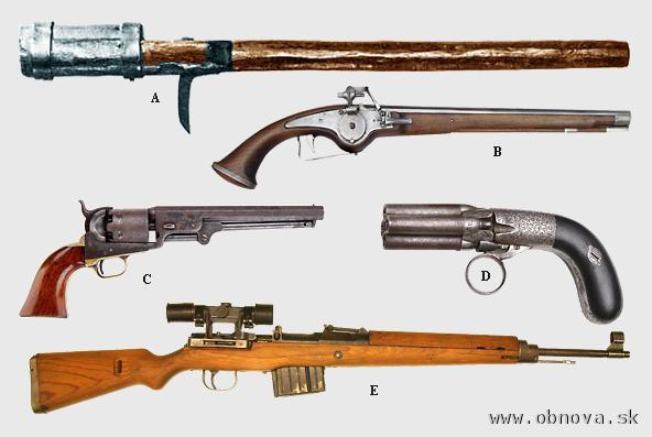 PAlné zbrane