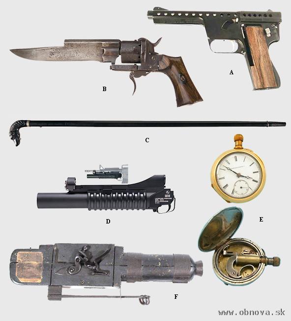 Ostatné skupiny strelných zbraní