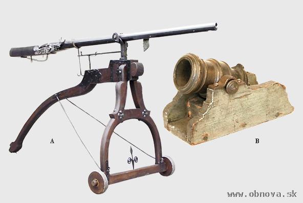 LAfetované palné zbrane