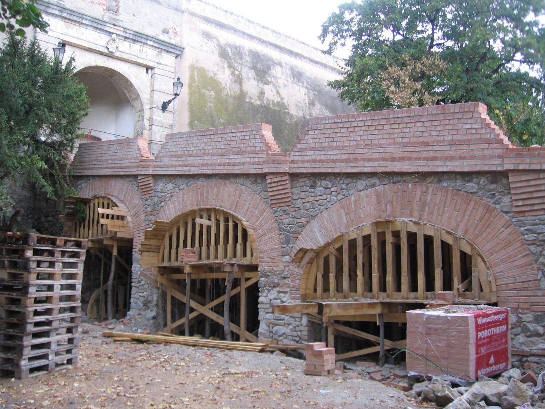Nitra, remeselne odfláknutá replika barokového mostu, foto Kamil Nováčik