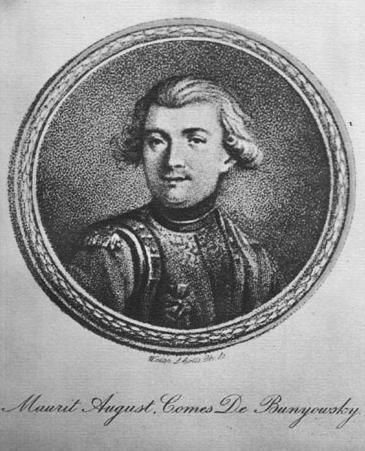 Móric Beňovský (wikipedia.org)