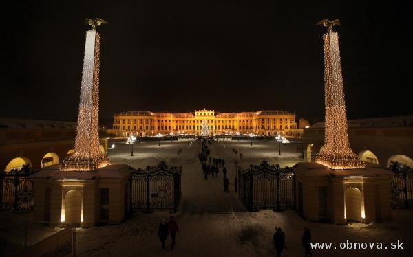 Zimná atmosféra zámku Schönbrunn 01-02 © Gerhard Fally