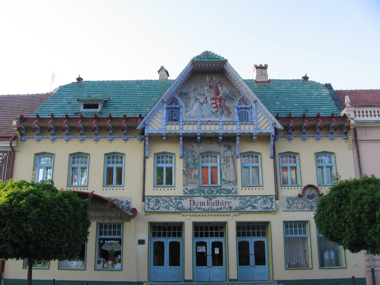 Spolkový dom v Skalici (1904 – 1906), foto Kamil Nováčik