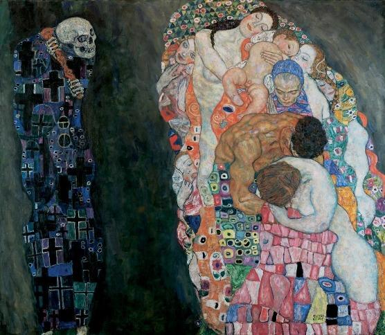 Gustav Klimt, Smrt a život, Leopold Museum