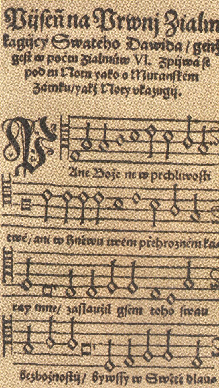 Silván Ján: Pieseň na prvý žalm, 1571 (wikipedia.org)