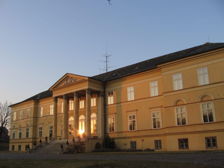 Západ slnka v Dolnej Krupej, foto: Kamil Nováčik