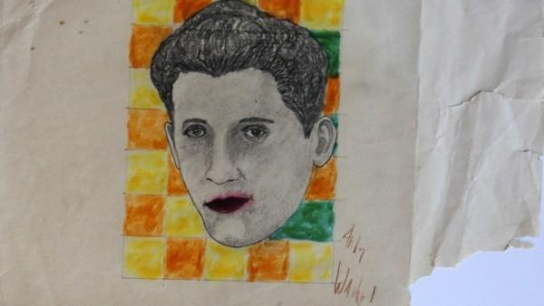 Obraz Andyho Warhola - popartový portrét zpěváka Rudyho Vallée, F:profimedia.cz