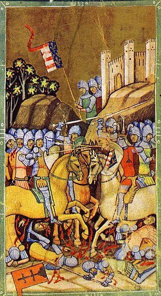 Bitka pri Rozhanovciach (1312), Obrázková kronika