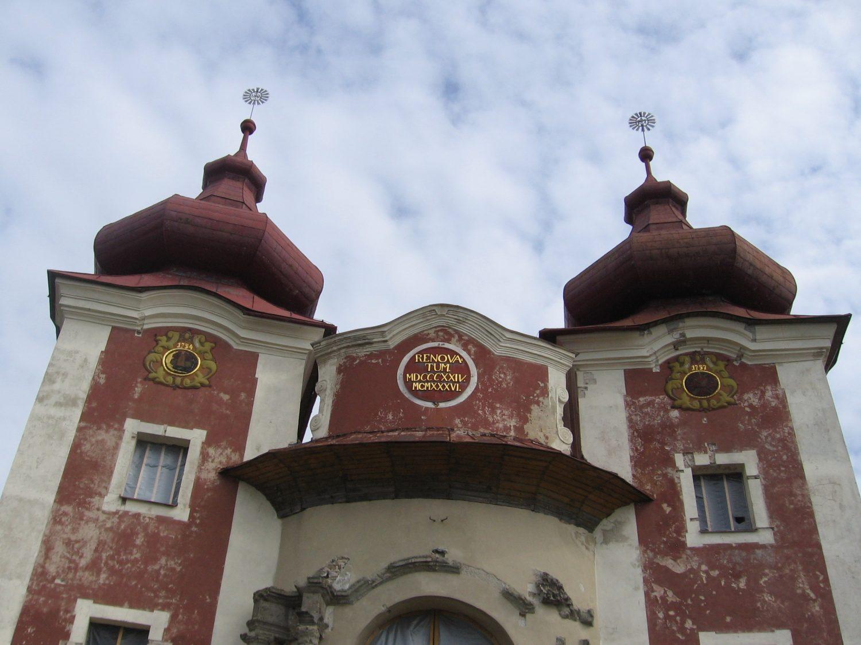 Kalvária, Horný kostol, foto: Kamil Nováčik
