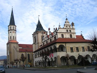 Levoča, veža chrámu sv. Jakuba, zdorj: net