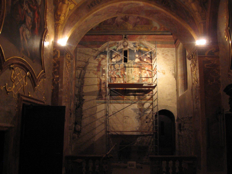 Nitrianska freska s témou smrti Panny Márie, foto: Kamil Nováčik