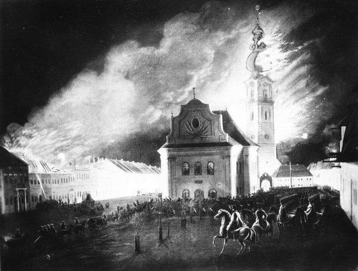 Spišská Nová Ves, požiar 2. februára 1849