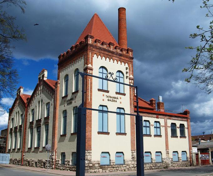 Bývalá parná elektráreň v Poprade