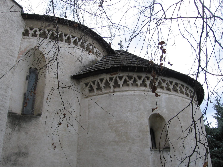 Románska rotunda v Križovanoch nad Dudváhom, foto: Kamil Nováčik