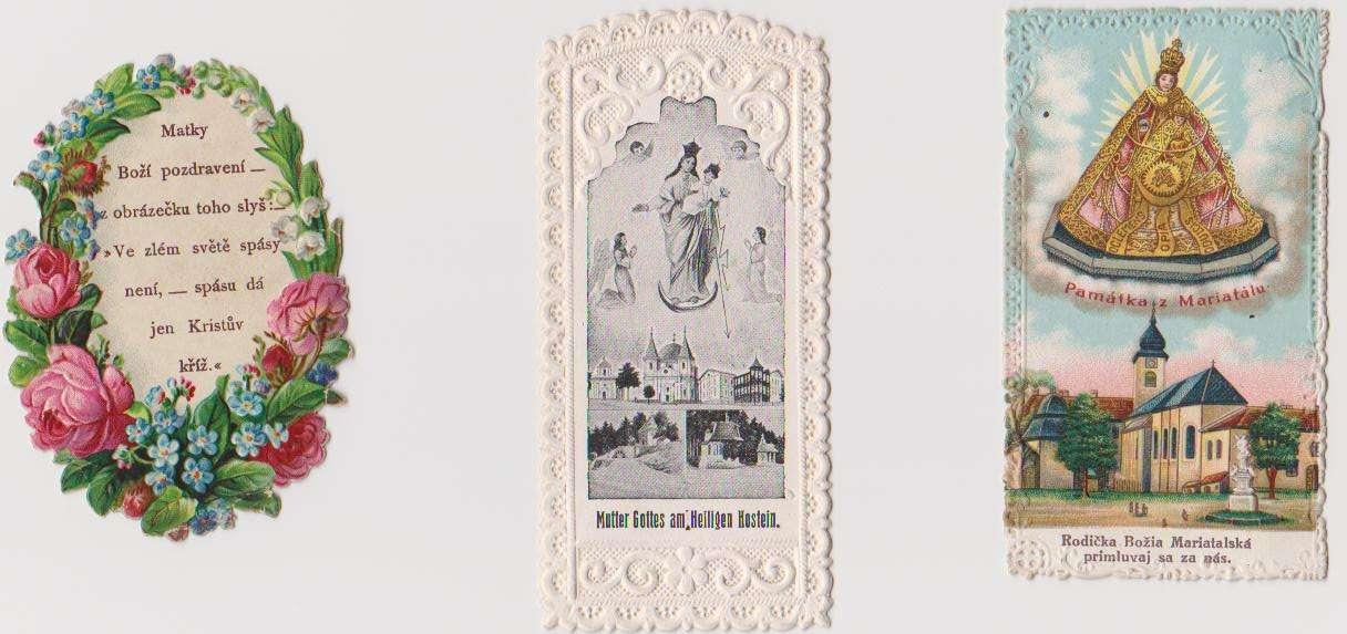 Modlitba v girlande, Svatý Hostýn, Mariathal/Marianka