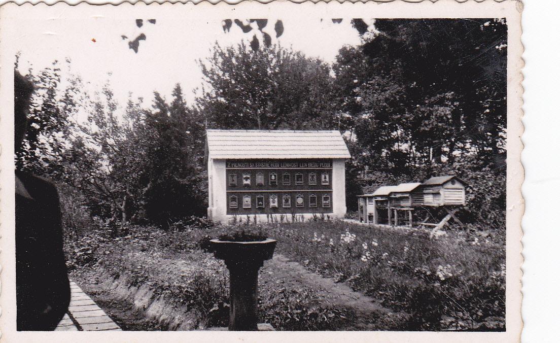 Foto včelína z roku 1940