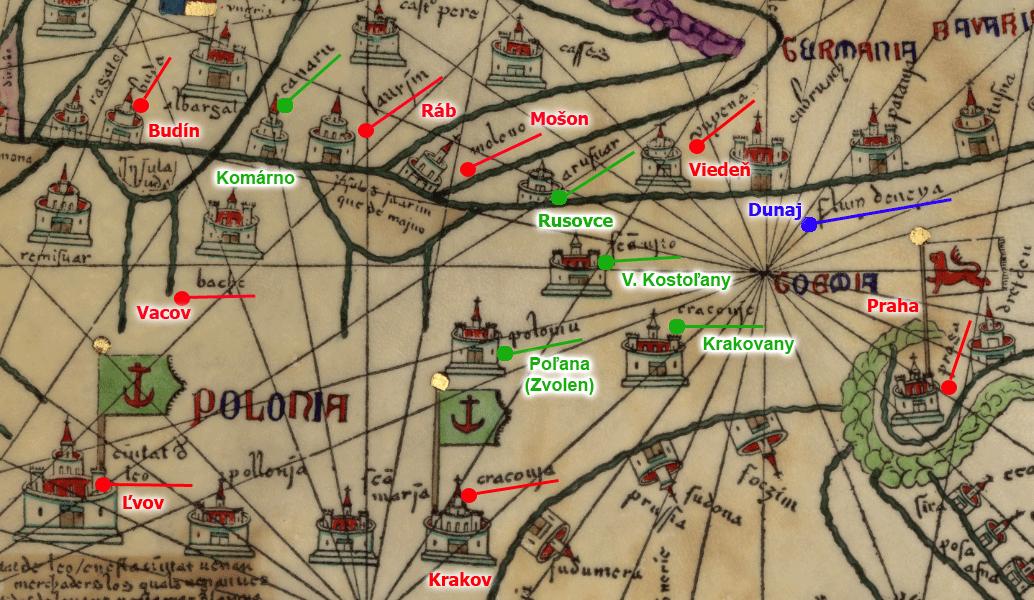 Kleban - Katalánsky atlas 1375